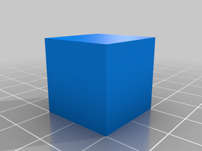 clear test cube
