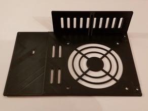 Ender 3 Pro - Mainboard Thin Fan Case Cover (80x80x10)