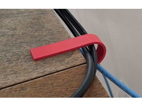 Cable clip - customizable