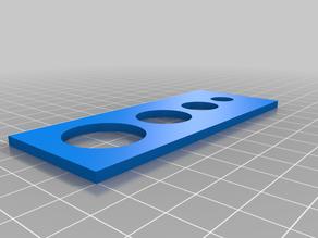 testing the 3D printer material/dimensions