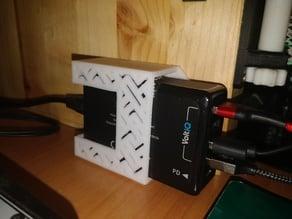 USB Hub Flat Charger Table / Wall Mount