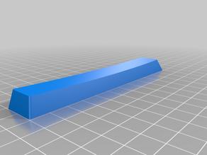 My Customized KeyV2: Parametric Mechanical Keycap Library