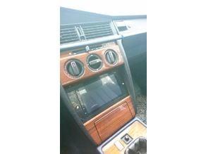 Mercedes Benz 190E W201 2-DIN adapter frame