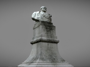 Bust of General Storms