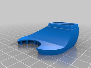 Artillery Sidewinder X1 / Artillery Genius Futuristic fan duct for BLTouch mount