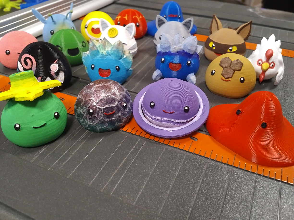 Slime Rancher - Dervish, Fire, Tangle and Mosaic Slimes by