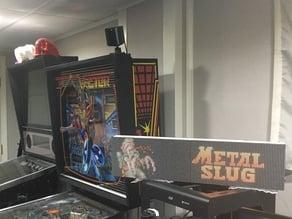 Retro Arcade Clock - Rpi2DMD - P5 Frame Kit