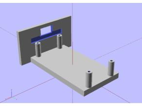 Arduino nano baseplate