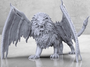Manticore - Tabletop Miniature
