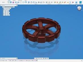 Extruder Wheel #7