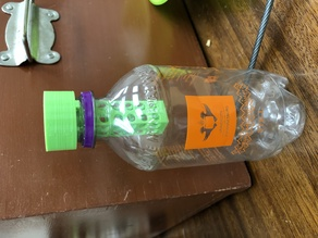 Hydroponic water bottle system