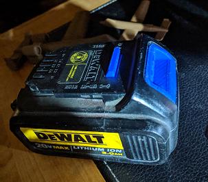 DeWalt 20V Battery Button