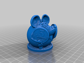 Mouse with coins