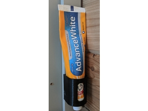 Wall Mount Toothpaste Tube Holder