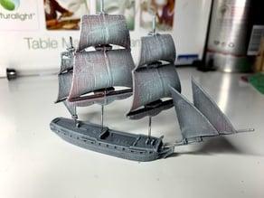 Southampton-class frigate (32 gun) 1757 - 1812