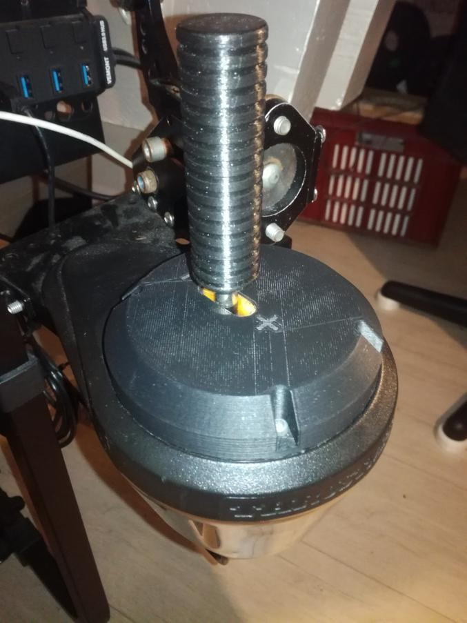 Thrustmaster TH8A shifter mod