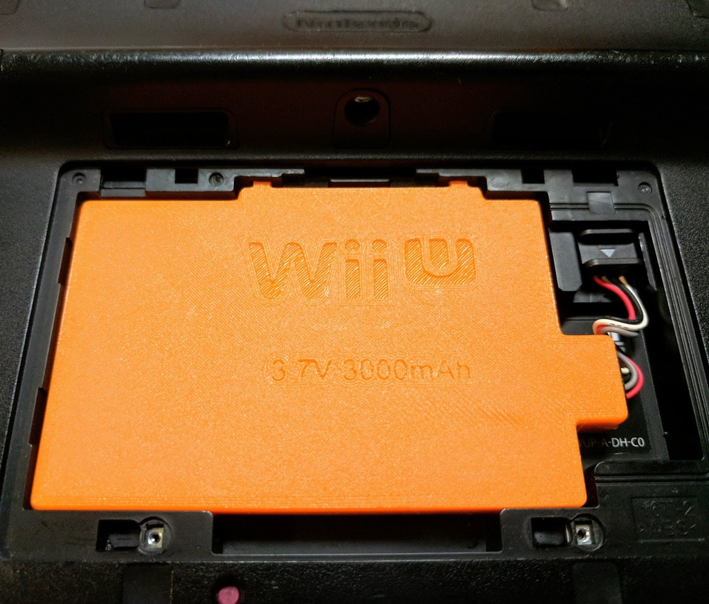 Wii U Large Battery Case