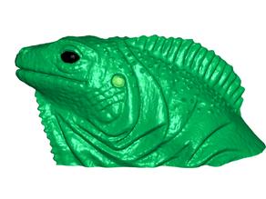 Iguana Refrigerator / Whiteboard Magnets