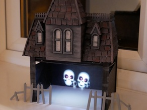 Peppers Ghost Effect - Halloween Haunted House