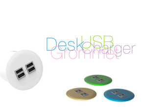Desk Grommet with USB Charger