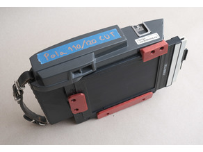 Polaroid 110A, 110B and 120 RE-convert a packfilm conversion to 4x5