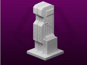 GreebleCity Cyberpunk: Server Building