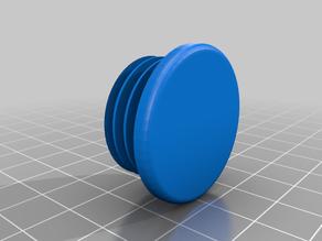 32mm round endcap