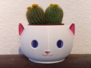 Cat Planter without Supports