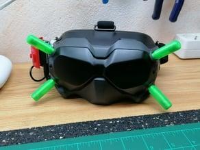 Antenna housing for Dji Digital FPV Goggles