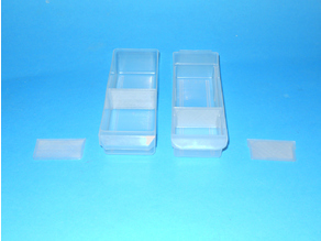Drawer Dividers for Small Parts Cabinet