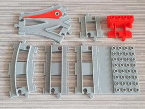 LEGO Duplo tracks