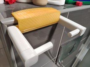 Minimalist quick change toilet paper holder - Remix