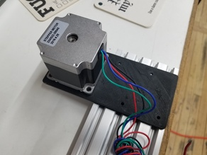Nema 23 motor mount V-slot 20x80 for DIY DTG Epson printer