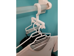 Clever Clothes Drying Hook for Towel Hanger