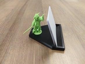 Base for Yoda Businesscard Holder