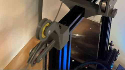 Ender 3 filament guide set for centered spool holder