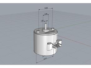 Stepper motor UAG2
