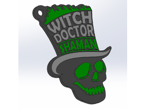 Witch Doctor BattleBots Logo