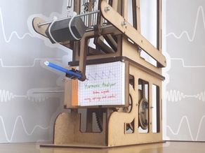 Harmonic Analyzer - A mechanical oscilloscope that uses gears and springs to add sines