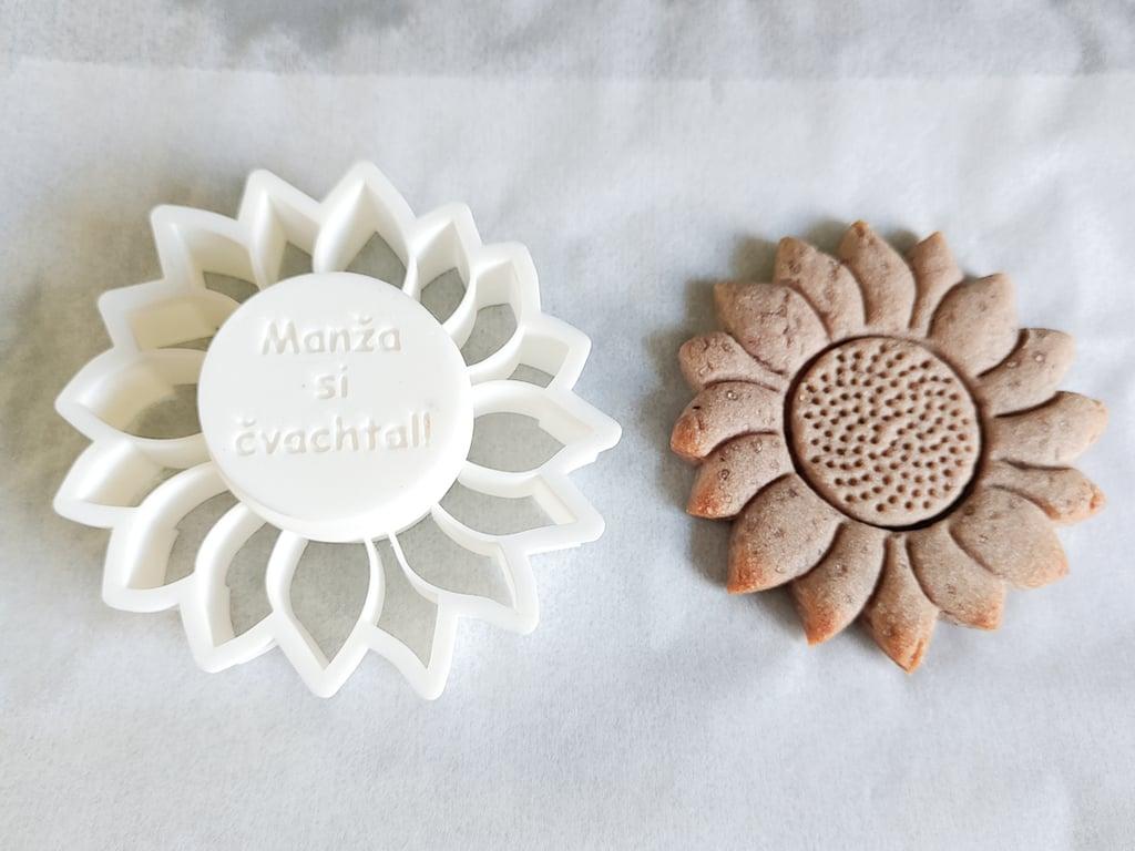 Sunflower Cookie Cutter
