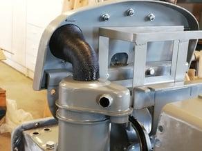 1/2 scale Massey Ferguson Tractor Air Intake Hose for TEA 20