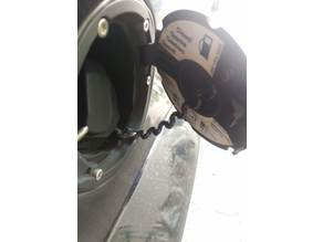 Fortwo fuel cap tether