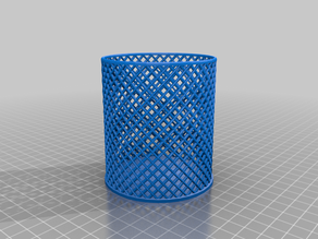 Simple spiral holder