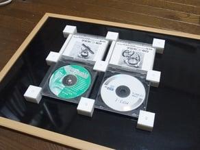 Blocks for displaying CD