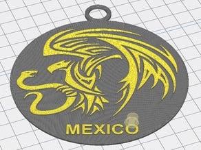 MEXICO EAGLE ORNAMENT 2019