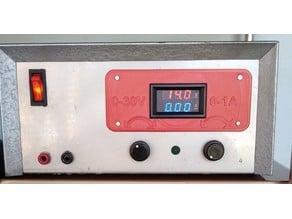 LED VOLT AMP Meter frame for Power Supply