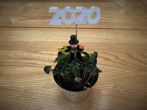 2020 New Year Decoration (also 2021)
