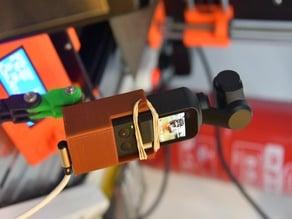 "DJI Osmo Pocket Gopro and 1/4"" camera tripod mount"