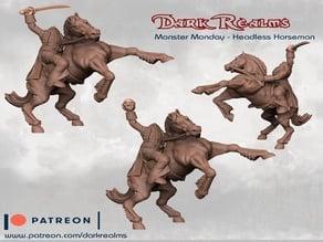 Monster Monday - Headless Horseman