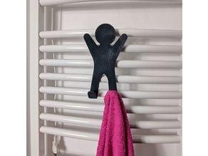 Human Towel Hanger